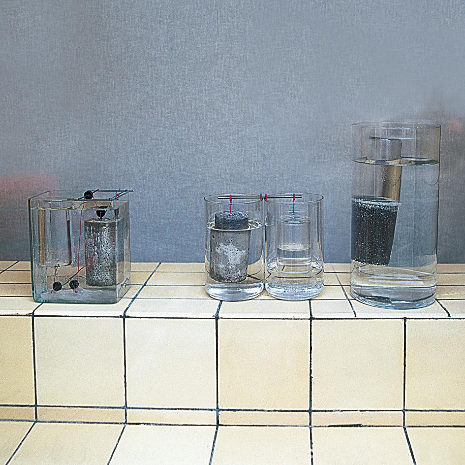 Marcus Berkmann – Wasser-Glas-Objekte